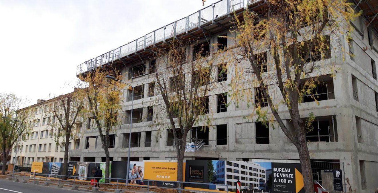 La façade des Loges de Mongré